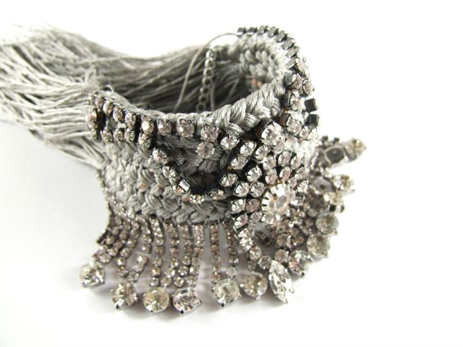 Audrey braided cuff