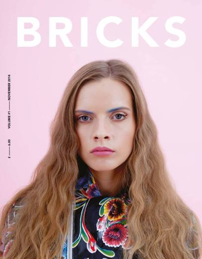 Bricks Magazine, November 2014, featuring editorial with Jolita Jewellery