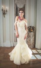 Dark Beauty Issue 39 (December 2014) editorial, featuring Jolita Jewellery's braided silk necklace