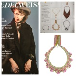 Edelweiss Magazine Rimini Necklace feature
