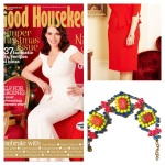 A colourful Granada bracelet featured in Good Housekeeping magazine, December 2012 issue