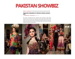 Fashion Parade event for Save The Children Charity, featured in Pakistan Showbiz. Jolita Jewellery pieces showcased with Nomi Ansari designs on the catwalk.