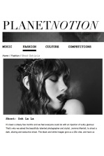 OOH-LA-LA editorial with Jolita Jewellery pieces for Planet Notion, published February, 2014
