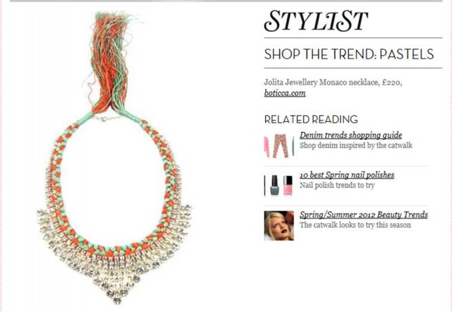 Stylist - Monaco necklace