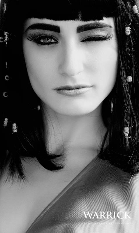 The Queen of Egypt - Alexandria earrings by Jolita Jewellery
