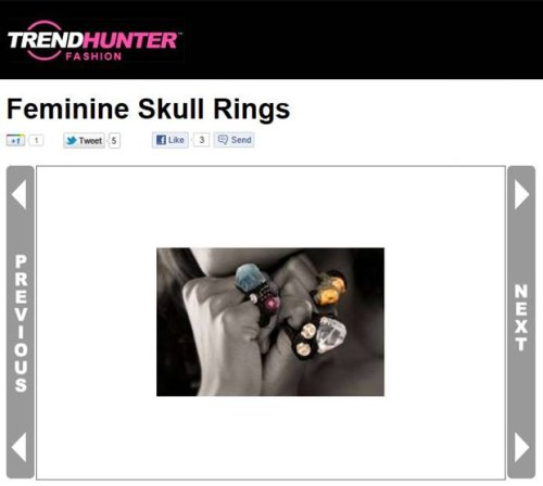 TrendHunter - Jolita Jewellery Arachne rings