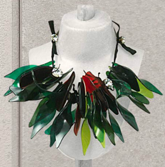 necklace at farfetch abstract necklaces canada shopstyle browse leather corded xlarge marni