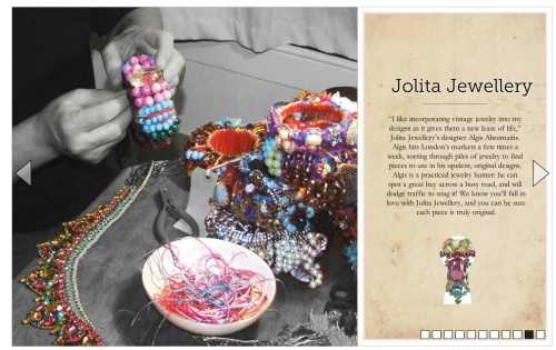 Boticca desinger feature Jolita Jewellery