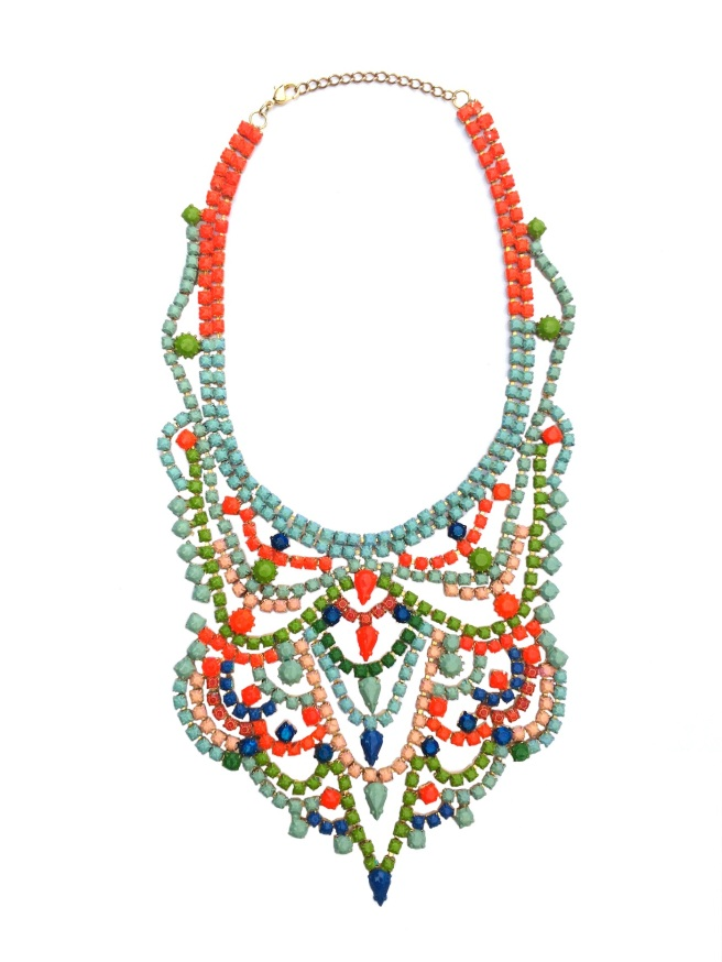 Carnival Necklace by Jolita Jewellery