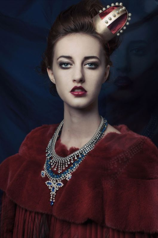 Blue St. Petersburg Necklace by Jolita Jewellery