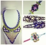 Colourful statement pieces by Jolita Jewellery for Dadu event