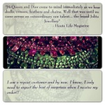 Jolita Jewellery Testimonials