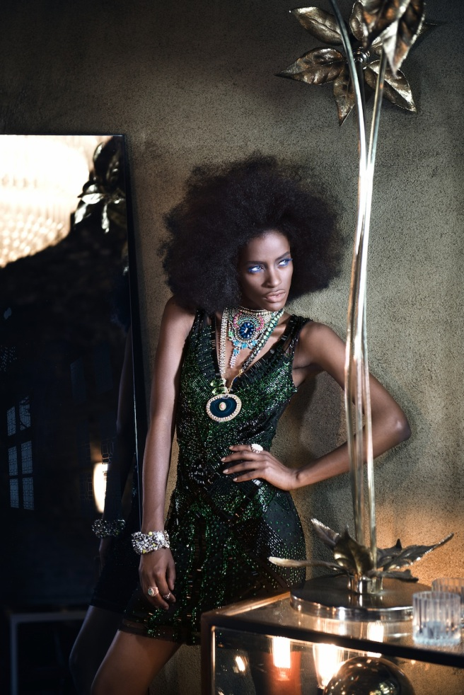 From Material Girl editorial shoot, featured in May 2015 Fashion Shift magazine - in Jolita Jewellery