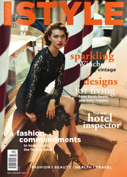 Sussex Style Magazine cover Dec-Jan 2013