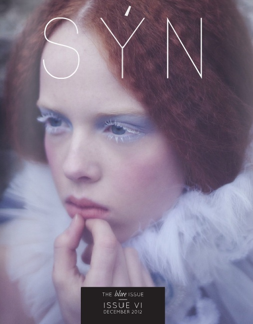 Syn Magazine December 2012, featuring Rock n Roll shoot with skull pieces from Jolita Jewellery Voodoo collection