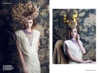 Institue Magazine - Anne Boleyn shoot Helena necklace