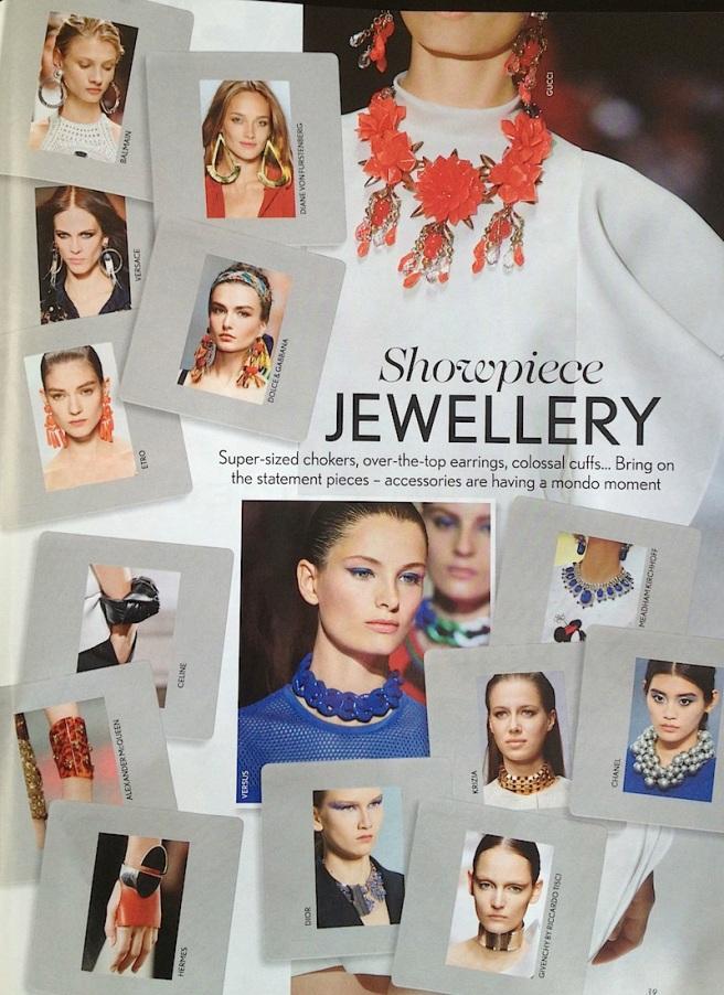 Jewellery trends SS13