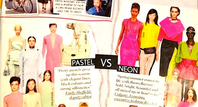 Pastel or Neon