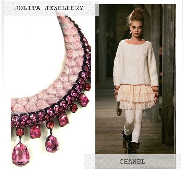 Jolita Prague necklace at Crystal Touch Kuwait