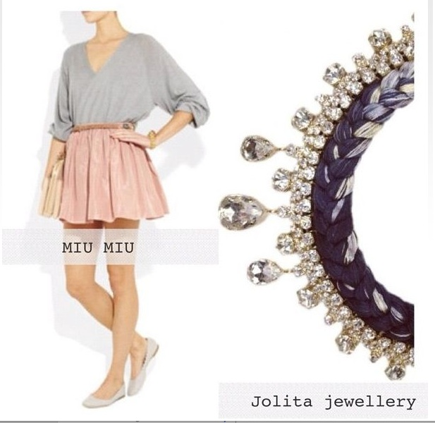 Jolita Seychelles necklace at Crystal Touch Kuwait