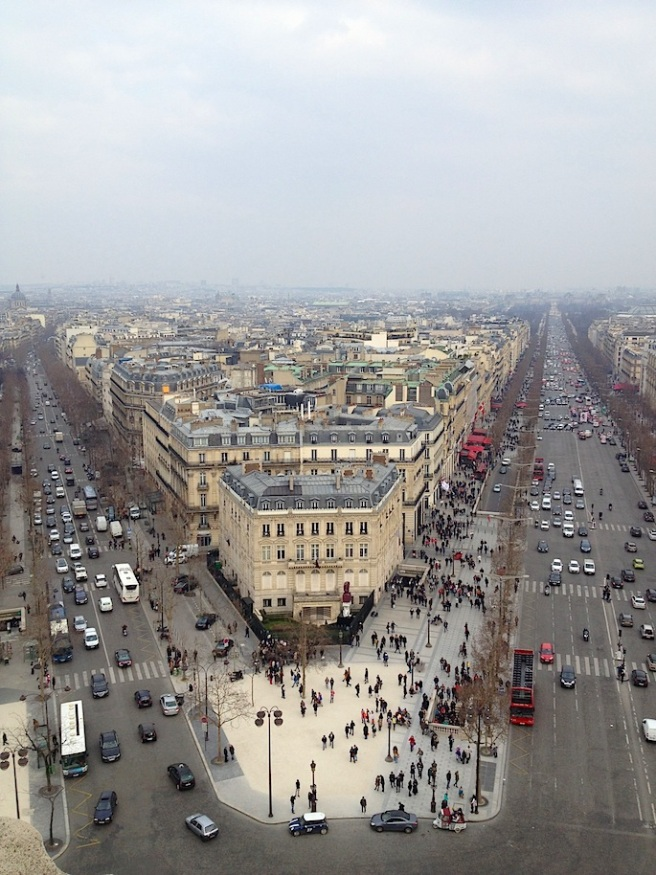10 Paris from Arc de Triomphe