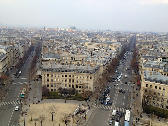 11 Paris from Arc de Triomphe