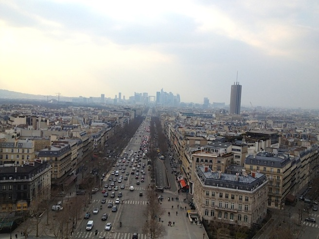 12 Paris from Arc de Triomphe
