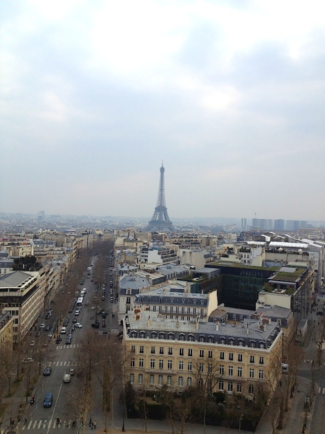13 Paris from Arc de Triomphe