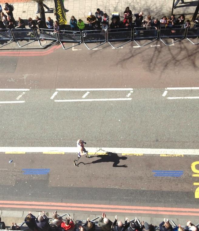Richard Whitehead London Marathon 2013