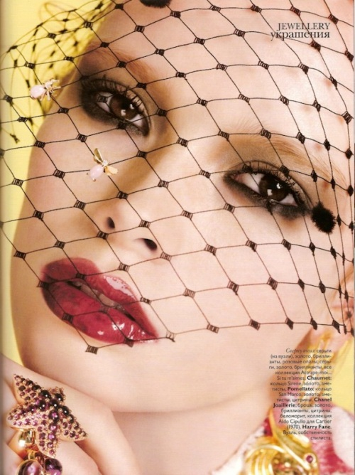 Jewellery editorial by Ben Heller for Vogue Russia May 2010