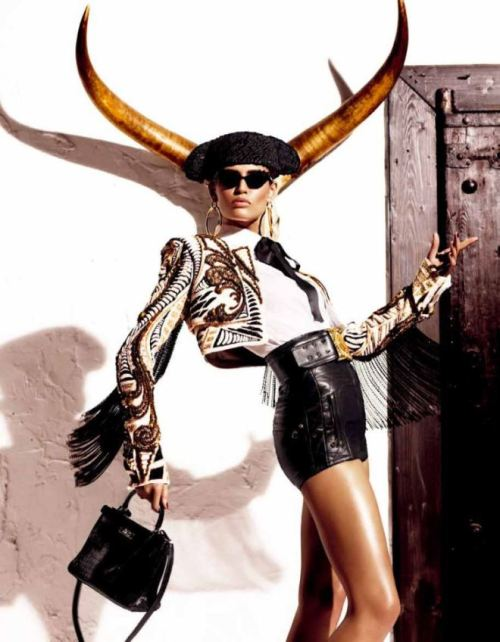 Bianca Balti for Vogue Japan March 2012