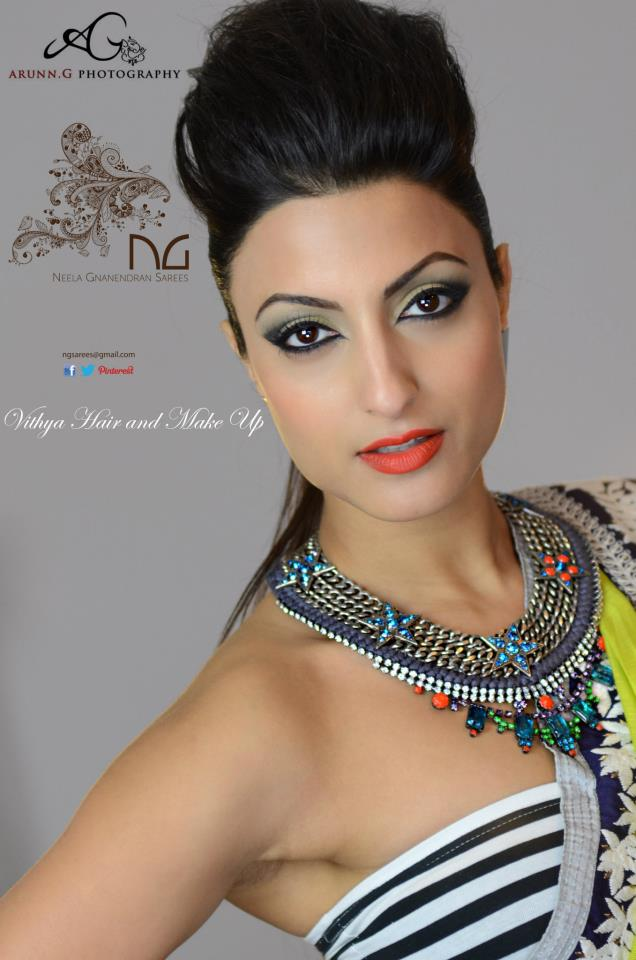 NGSarees shoot - Marrakech necklace