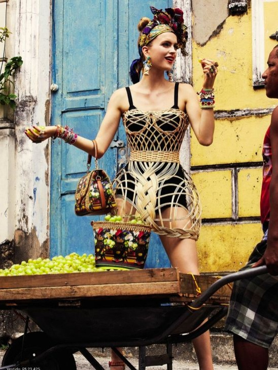 Carmen Miranda Vogue Brazil 1