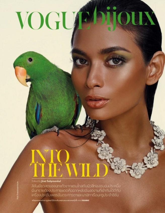 Chanok Sayoungkul by Nat Prakobsantisuk for Vogue Thailand April 2013