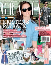 Grazia Middle East - April 2013 Cover
