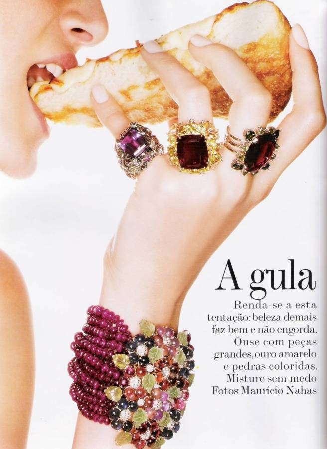 "Vogue Brazil October 2007 - ""A Gula"" editorial"