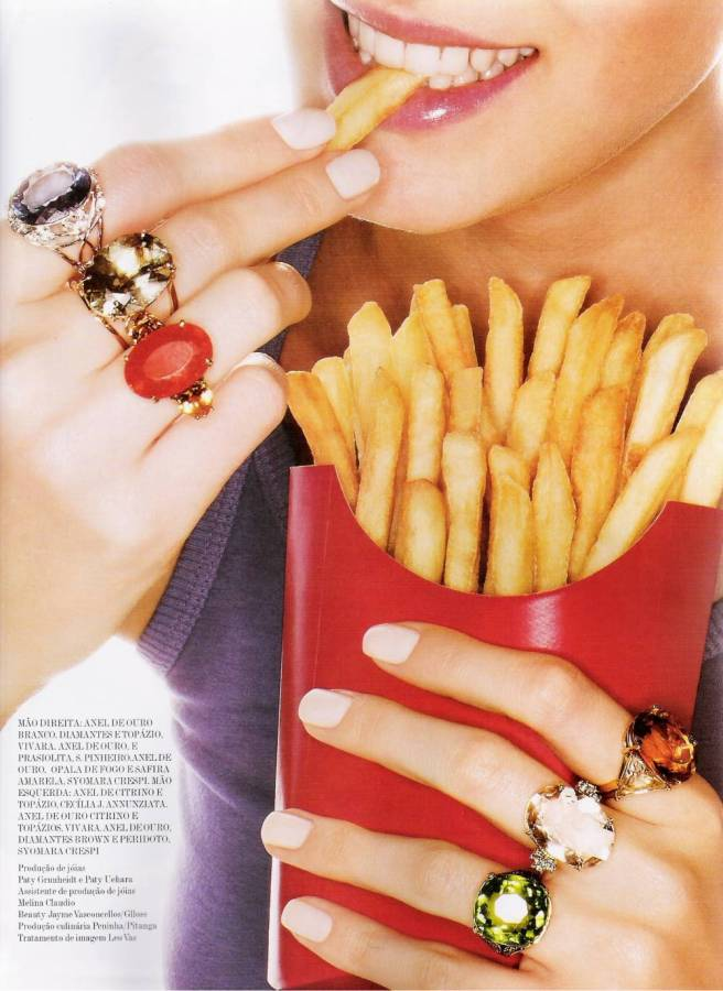 """Vogue Brazil October 2007 - """"A Gula"""" editorial"""