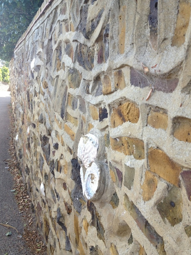 9 Broadstairs - wall of shells 1