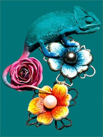 Find the Jewels editorial, Vogue Italia
