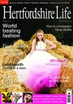 Hertfordshire Life Magazine Front Cover, October 2013