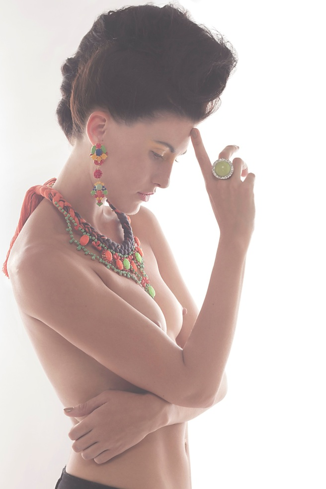 Beauty shoot with Jolita Jewels