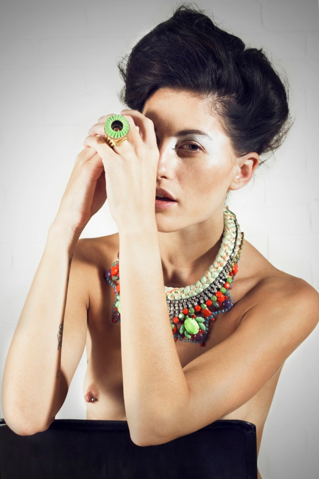Beauty shoot with Jolita Jewels