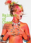 Issue #24 of HUF Magazine - Rainbow of Chaos Editorial - Jolita Jewellery feature: in our statement bangles