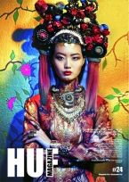 "Cover of HUF Magazine Issue #24 featuring Jolita Jewellery in ""Rainbow of Chaos"" Editorial"