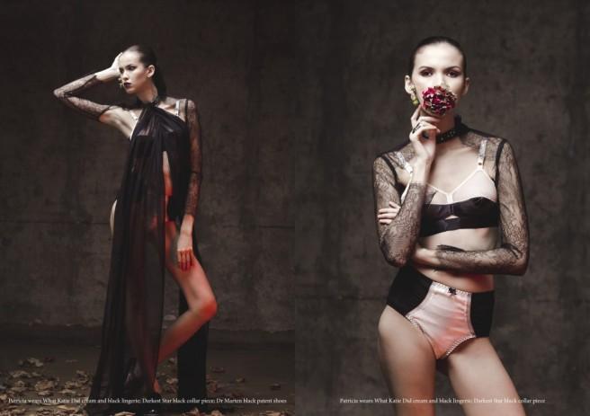 Noctis Magazine - Desert Rose editorial