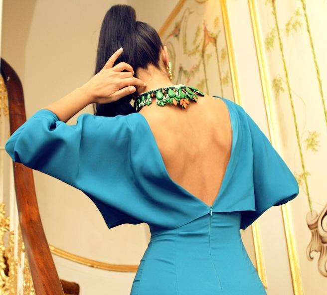 From luxury shoot with KatayoonLondon - in Jolita Jewellery's Dubai earrings and Hamptons necklace