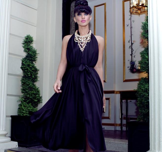 From luxury shoot with KatayoonLondon - in Jolita Jewellery's Ipanima necklace
