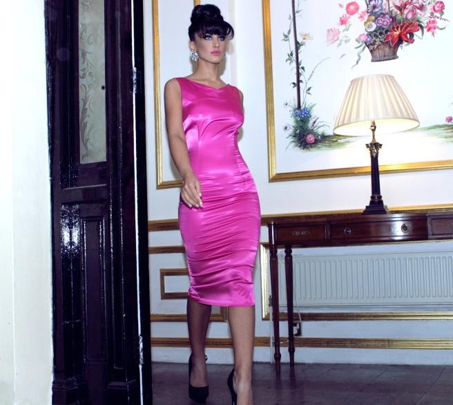 From luxury shoot with KatayoonLondon - in Jolita Jewellery's Madrid clear earrings
