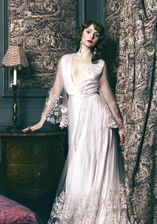 Tamla Kari in crystal Duchess earrings by Jolita Jewellery in the latest issue of Drama magazine, July 2014