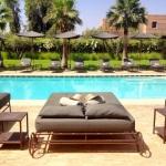 Hotel pool, Marrakech